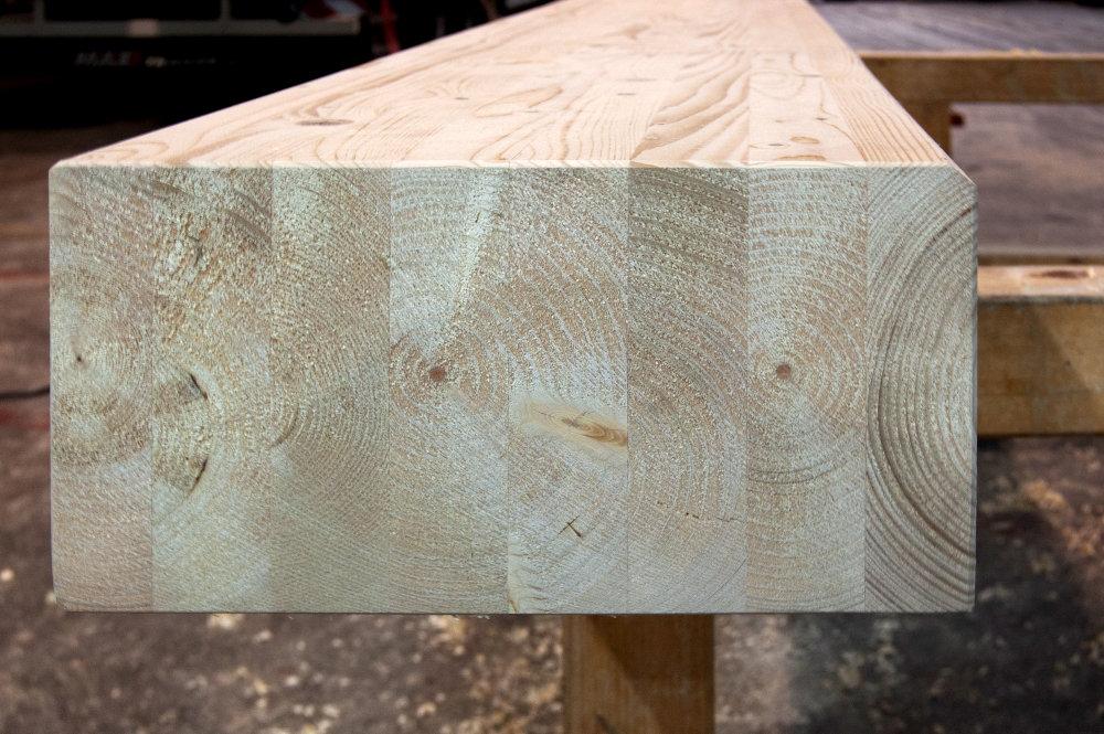 Drewno klejone warstwowo BSH - Klasa GL24h